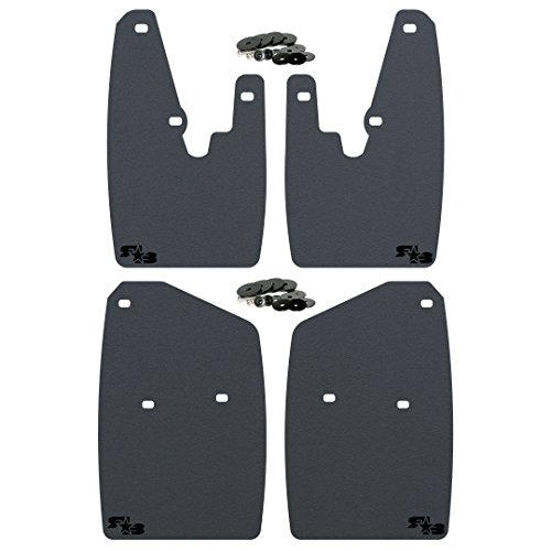 Premium Dodge Ram Mud Flaps by RokBlokz. Fits 2010 + 1500 2500 3500. Dodge Mud Guards come in 2 sizes for stock or lifted/oversize tires. (Regular (V1), Black)