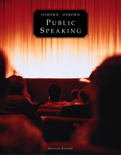 Public Speaking (7th Edition) (MySpeechLab Series)