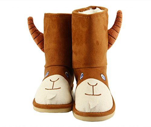 Boot Animal (The Doll Maker Animal Boot Color Brown Size:13, FBA1431710-13)