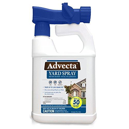 Advecta Flea, Tick, and Mosquito Yard Treatment - Yard Spray for Fleas, Ticks an