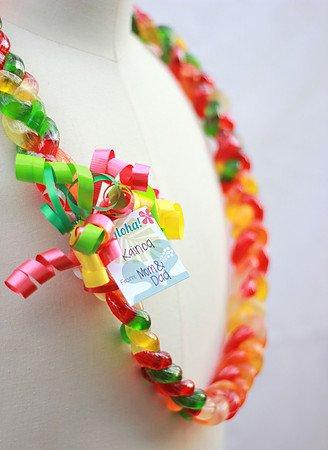 Yummy Gummy Lei - Rainbow