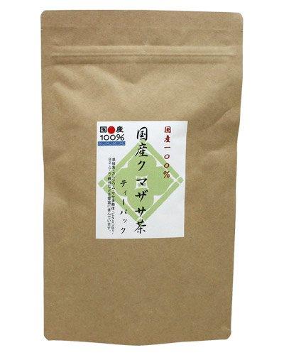 Striped Bamboo Grass Tea 20 Tea Bags - Product of Japan Bamboo grass Kumazasa veitchii