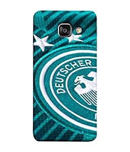 ColorKing Football Germany 10 Green shell case cover for Samsung A7 2016