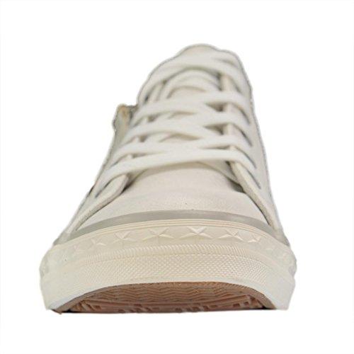 Mustang 1146-302-1, Zapatillas para Mujer blanco