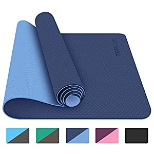 TOPLUS-Yoga-Mat-Classic-14-inch-Pro-Yoga-Mat-Eco-Friendly-Non-Slip-Fitness-Exercise-Mat-with-Carrying-Strap-Workout-Mat-for-Yoga-Pilates-and-Floor-Exercises