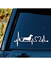 K1025 Tax Hjärtslag Lifeline Monitor Hund Dekal Klistermärke