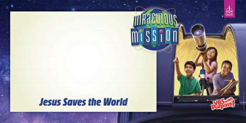 Concordia Publishing House Indoor/Outdoor Banner - Miraculous Mission VBS by CPH]()