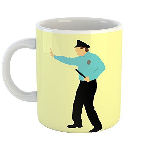 Westlake Art Baton Blue - 11oz Coffee Cup Mug - By Modern Picture Photography Artwork Home Office Birthday Gift - 11 Ounce (Fight Club Costume Ideas)
