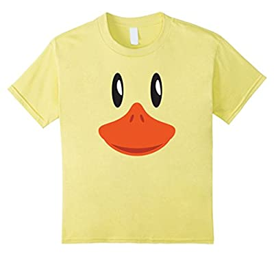 Cute Duck Face T-Shirt Halloween Costume For Kids & Adults