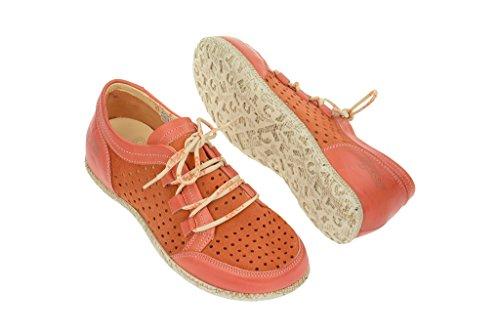 16188 Orange Road orange Orange Low Summer Women's in Eject Shoes Shoe E Leather aqqF0