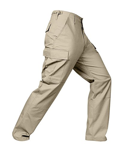 Zipper Fly Bdu Pants - 3