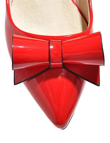 blanc us9 Plat Talon Noir Verni chaussures Cn42 Carrière Eu41 Pointu Cuir 8 5 Uk7 amp; Femme rouge décontracté Pink robe Bout Appartements Bureau Pdx Dfgbdfg 5 10 rose CxUwYqRq