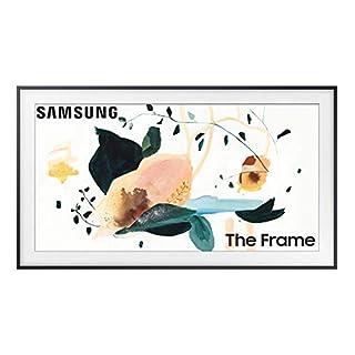 SAMSUNG 50-inch Class FRAME QLED LS03 Series - 4K UHD Dual LED Quantum HDR Smart TV with Alexa Built-in (QN50LS03TAFXZA, 2020 Model)