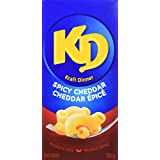 KD KRAFT DINNER - Spicy Cheddar - Macaroni & Cheese 156G x 12