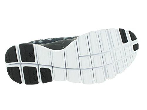 Nike W Nk Free 5.0 V4 Ns Pt - Zapatillas para mujer Black/Anthracite/Dark Grey/White