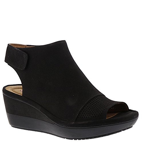 Clarks Mujeres Wynnmere Abie Black (6 D Us)