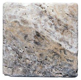 Scabos, Philedelphia Tumbled Travertine 10 SQFT (4x4 TILE)
