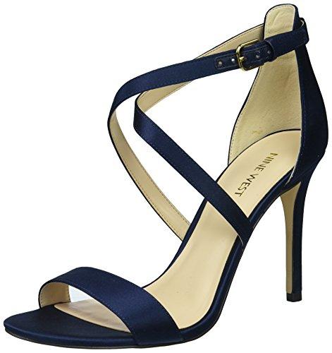 Sandal Navy Nine Satin Women's West Luxe Mydebut T80rW0XOn