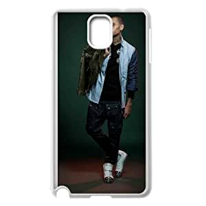 Samsung Galaxy Note 3 Cell Phone Case White Chris Brown J1741471