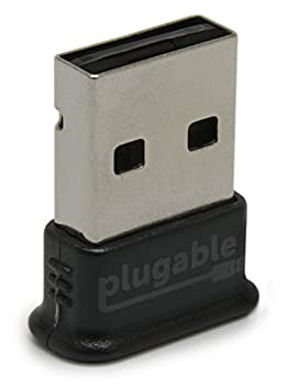 Plugable Usb Bluetooth 4.0 Low Energy Micro Adapter (Windows 10, 8.1, 8, 7, Raspberry Pi, Linux Compatible; Classic Bluetooth, & Stereo Headset Compatible) 0