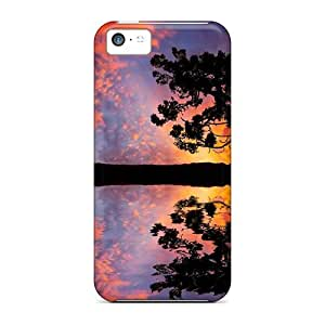 Fashion WII3319SnLD Case Cover For Iphone 5c(sunset 1)