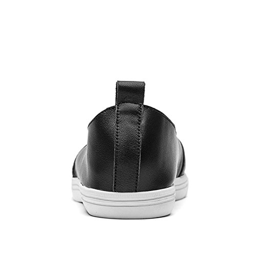 Sneakers Slip-on Giy Da Donna Fashion Flat E Casual Mocassini Casual Nero
