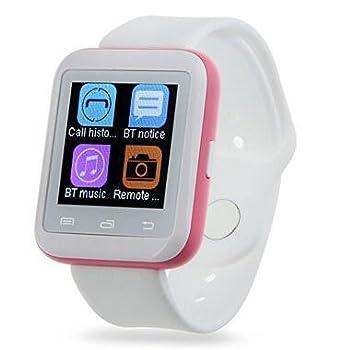 Bluetooth reloj inteligente U9 Wearable Smartwatch salud teléfono reloj de pulsera deporte podómetro para IOS Android
