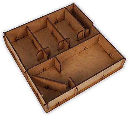 docsmagic.de Organizer Insert for 7 Wonders Duel Box - Encarte: Amazon.es: Juguetes y juegos