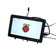 Waveshare Raspberry Pi 10.1inch HDMI LCD Capacitive Touch Screen with Case for Raspberry Pi 2 / 3 - Black