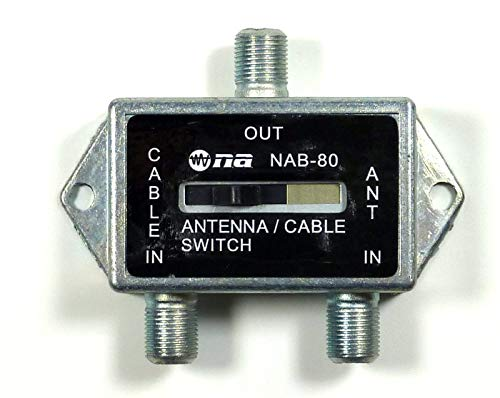 - Coaxial A/B Game Antenna Cable TV CATV Switch