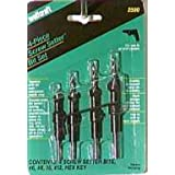 Wolcraft Screw Setter Set with Tapered Drill Bits