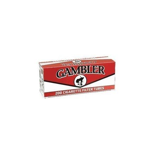 Gambler Regular King Size Cigarette Tubes (10 Boxes) by (Gambler Cigarette)