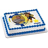Paw Patrol: Chase Personalized Photo Edible Icing