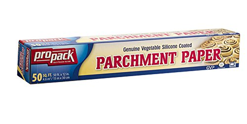 Propack Non Stick Parchment Baking Paper 12 x 50 Pack Of 2 by Propack