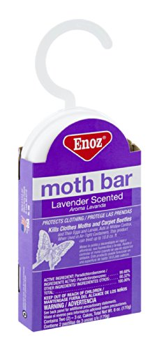 Enoz Lavender Scented Moth Bar 6 OZ (Pack of ()