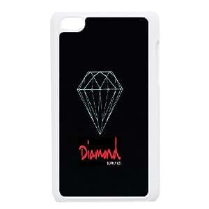 Diamond Unique Design Case for Ipod Touch 4, New Fashion Diamond Case