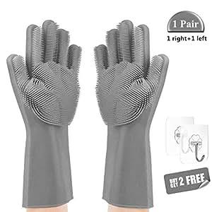 Black magic non latex gloves