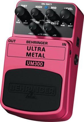Efecto de pedal para guitarra y bajo Behringer UM300 Ultra Metal ...