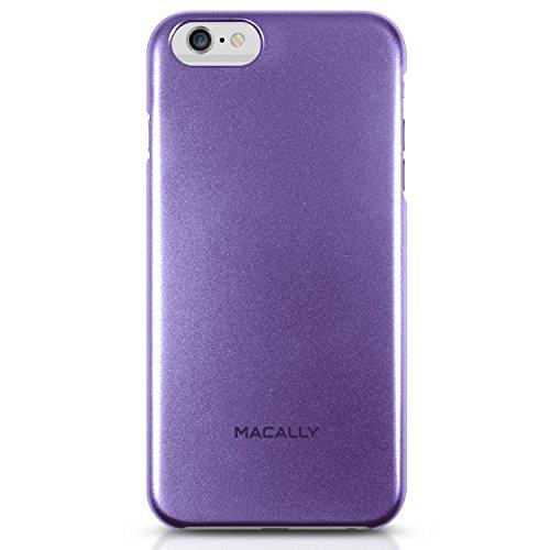 Macally SNAP, Coque rigide de protection pour iPhone 6 Plus, Violet