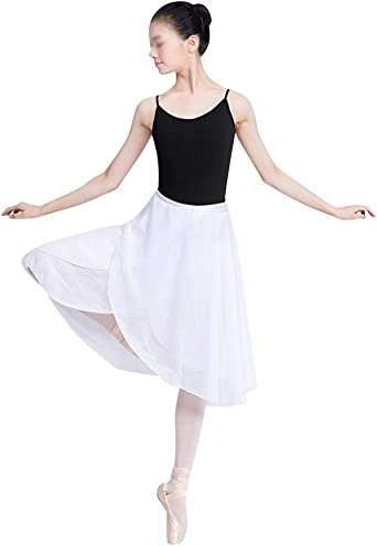 Falda Corta De Ballet Clásica De Gasa Tul Ropa De Baile ...