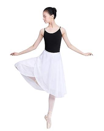 Falda Corta De Ballet Clásica De Gasa Tul Ropa De Baile Dancewear ...