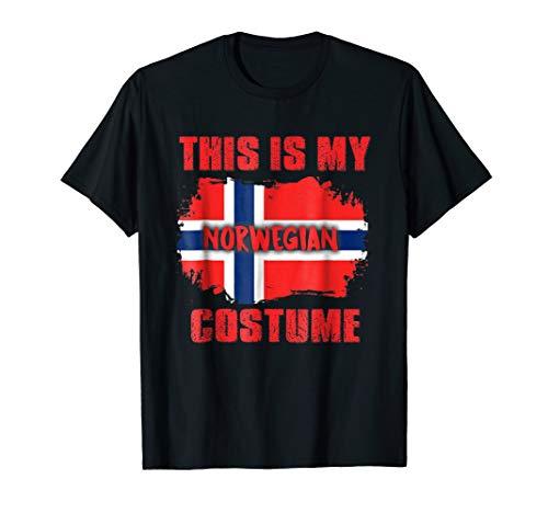 This is my Norwegian costume shirt Norway ()