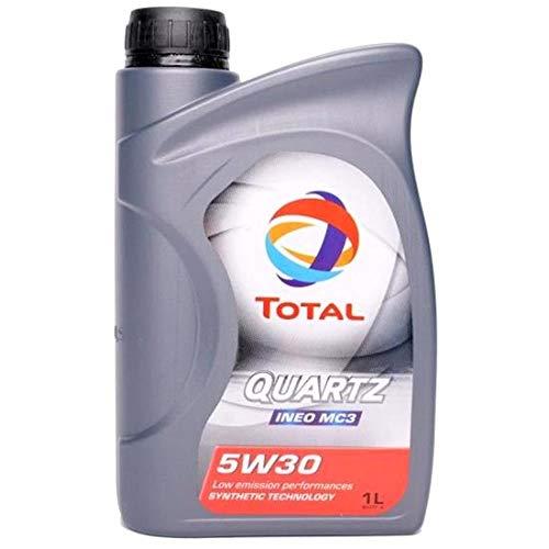 Oleo de Motor 5w30 Total Quartz MC3 Api Sn 1lt