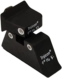product image for Trijicon GL201-C-600649 Bright & Tough Night Sight Suppressor Set, Glock 17-39 Models, White Front/ White Rear with Green Lamps