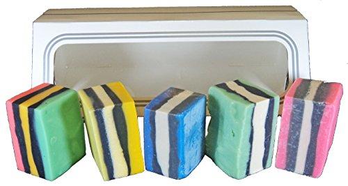ATTIS Natural Handmade 'All Sorts' Soaps Gift set of 5 | Veg