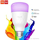 Xiaomi Mi Yeelight Wireless Smart Color LED E27 Light Bulb 2019 Upgraded 10W 800LM RGB + W -, 1 Year Warranty