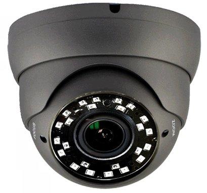 101AV 1080P True Full-HD Security Dome Camera 2.8-12mm Variable Focus Lens SONY 2.4Megapixel STARVIS Image Sensor IR In/Outdoor WDR OSD works w/1080P TVI 1080P AHD 1080P CVI & standard recorder only