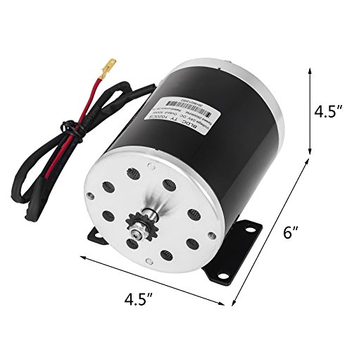 042c205032146 Mophorn 500W DC Electric Motor 24V Permanent Magnet DC Brush Motor ...