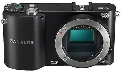 Samsung NX1000 Negro (Cuerpo) Camara Evil 20.3 Megapixeles: Amazon ...