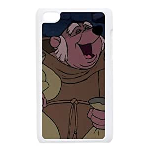iPod Touch 4 Phone Case White Robin Hood Friar Tuck TF2497670